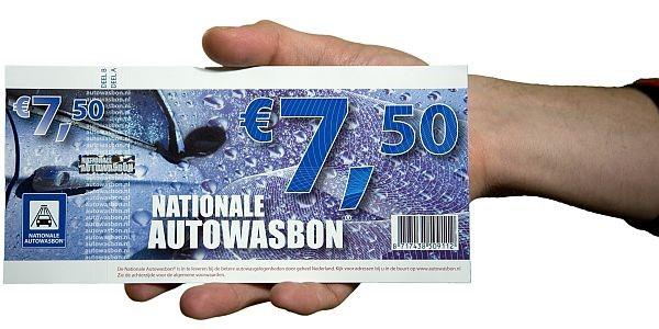 De gratis Nationale Autowasbon bij aanvraag van een BOVAG autoverzekering offerte