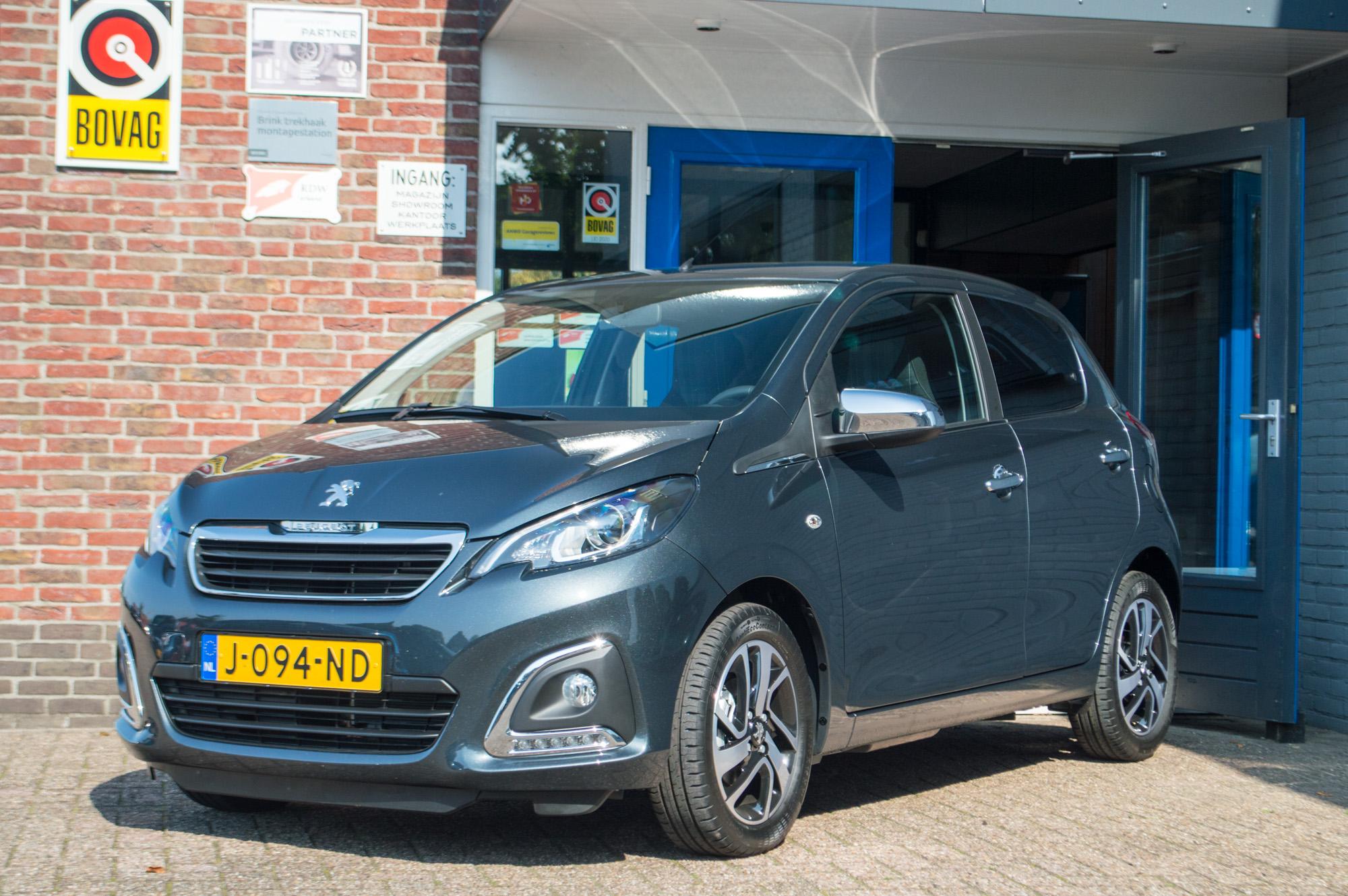 Peugeot 108 nieuw in de verhuurvloot bij Autohopper van As in Apeldoorn West. Per direct kunt u deze auto huren.